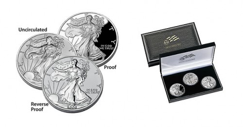 20th Anniversary American Silver Eagle Set