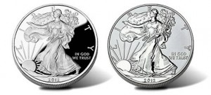 2012-S American Silver Eagles - Proof and Reverse Proof Coins