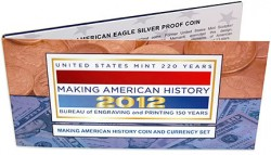 2012 Making American History Coin and Currency Set