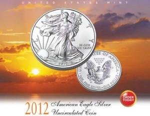 2012-W Uncirculated American Silver Eagle